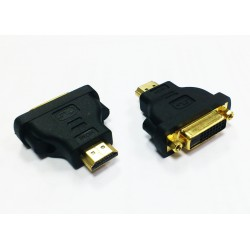 ADAPTADOR DVI-HDMI BIWOND 24+1/H-HDMI/M - Imagen 1