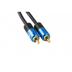 CABLE DIGITAL COAXIAL - 1RCA A 1RCA SILVER TH 2M 93014 - Imagen 3