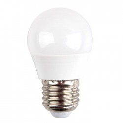 BOMBILLA LED E27 G45 V-TAC  5,5W 40W LUZ CALIDA 470LM GOLFBALL L7407 - Imagen 2