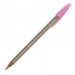 Bolígrafo Cristal Fun Bic Color Rosa 1.66mm - Imagen 1