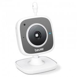 Vigilabebes Beurer By-88 Baby Monitor Smart Y Vídeo - Cámara Hd Wifi Orientable - 14 Canales - Visión Nocturna - App Beurer - Im