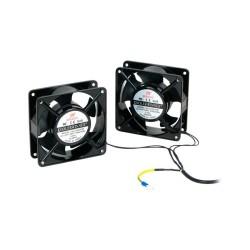 Pack 2 Ventiladores Para Armario Rack Phasak Mural - 230v - 120x120x10mm - Imagen 1