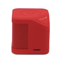Talius - Altavoz Cube - 3w - Fm/sd/bluetooth - Rojo - Imagen 1