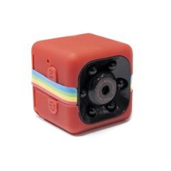 Mini Videocámara Full HD 1080p Rojo - Imagen 1