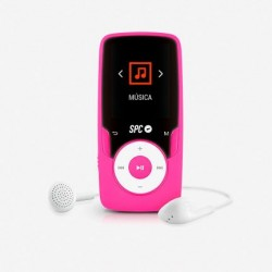 Spc Reproductor Mp4 Pure Sound Extreme 8 Gb Pink - Imagen 1