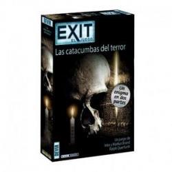 Juego de mesa devir exit 9 las catacumbas del terror - Imagen 1