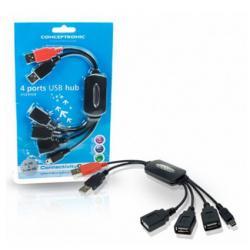Hub 3 Puertos Usb + 1 Mini Usb Conceptronic   1100013 - Imagen 1