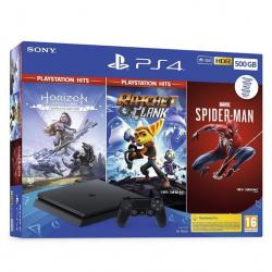 Consola Sony Ps4 500gb + Honor + R&c + Spiderman - Imagen 1
